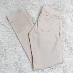 CAbi light pink skinny jeans pants bottoms Sz 4